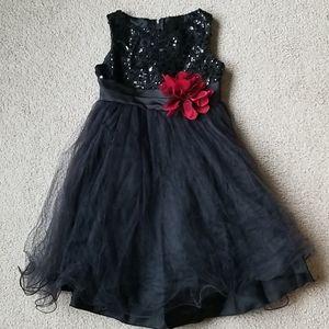 ❤ Kid's Dream Black Formal Dress